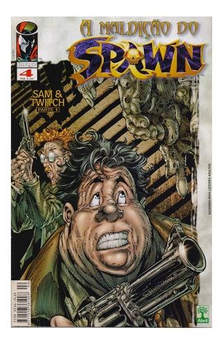 A Maldição Do Spawn 4 Gibi Abril Jovem Image Comics