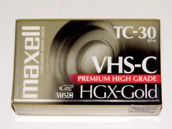 Videocassette Vhs-c Tc-30 Maxell (precio Por 5 Unidades)
