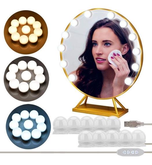 10 Bombillas Led Luces De Espejo Maquillaje Envío Gratis