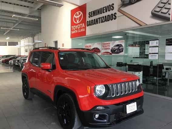 Jeep Renegade Suv 5p Latitude Ta Ba A/ac Aut. Piel Ve Ra-18