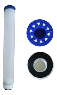 Cartucho Rellenable Para Resina 20 Pulgadas Slim Filtro Agua