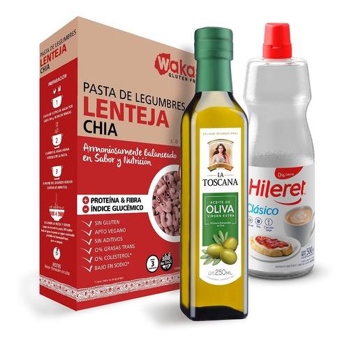 Aceite De Oliva La Toscana + Pastas Wakas + Hileret