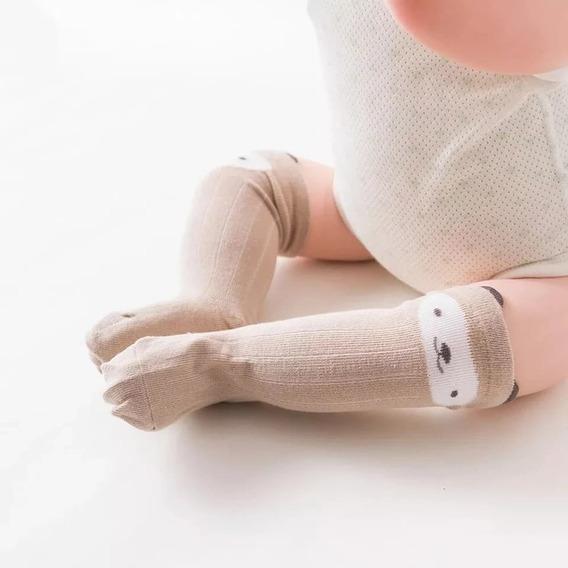 Calcetas Niñas Niños Bebés Animales Oso Buho Panda Ojitos
