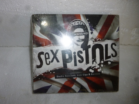 Box 3xcds - The Many Faces Of Sex Pistols - Digipack