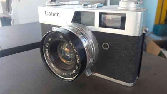 Camera Fotográfica Canon Ql19 Raríssima Barata 200 Reais