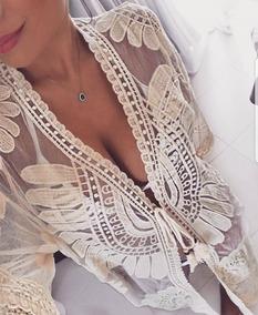 Cardigan Kimono Saída De Praia Verão Mandala 2019