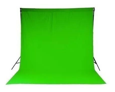 Tecido Verde Estúdio Chroma Key Com Acabamento 2,00 X 1,50