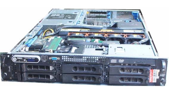 Servidor Dell Poweredge 2950 2 Dualcore2.0 2hd 146gb 8gb Ram