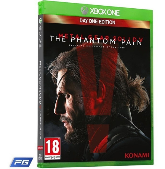 Jogo Metal Gear 5 The Phantom Pain Day One Edition Xbox One