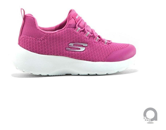 Tenis Skechers Dynamight-race N Run Rosa Niña - 81018lpnk