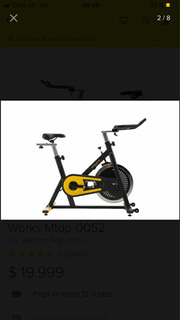 Bicicleta Fija Athletic Works Vendo O Permuto