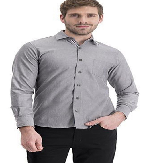 Camisa Lisa Talle Super Especial 54 56 58 60 Todosloscolores