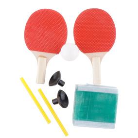 2b2723383 1 Par Mini Raqueta De Ping-pong De Doble Cara + 1 Pelota