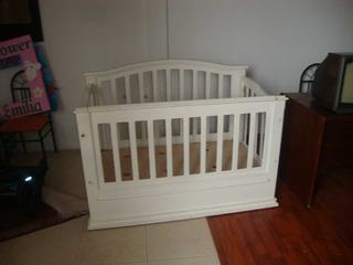 Cuna De Madera Para Bebe