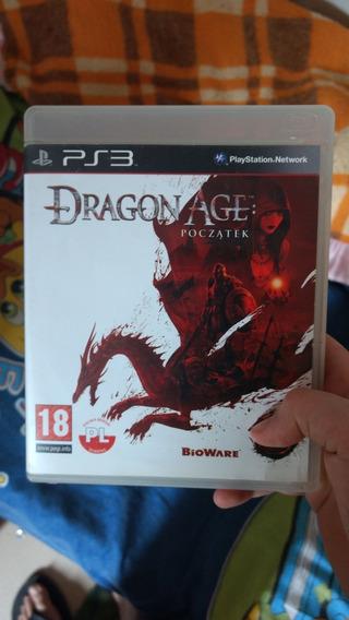 Jogo De Playstation 3 ; Dragon Age Poczatek
