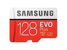 Cartão De Memória 128 Gb U3 4k Microsdxc Evo Plus