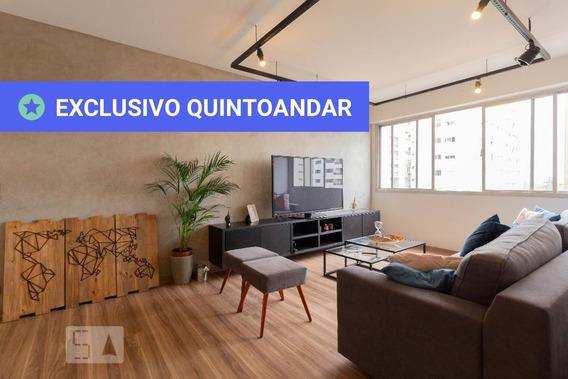 Apartamento No 5º Andar Mobiliado Com 2 Dormitórios E 1 Garagem - Id: 892954442 - 254442