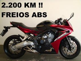 Cbr 650 F Abs - Só 2.200 Km !!