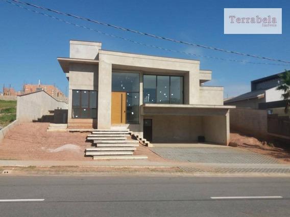 Casa Com 4 Dormitórios À Venda, 350 M² Por R$ 1.800.000,00 - Condomínio Campo De Toscana - Vinhedo/sp - Ca0230