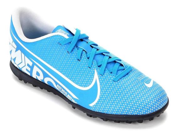Chuteira Masculina Society Nike Mercurial Vapor 13 Club Tf