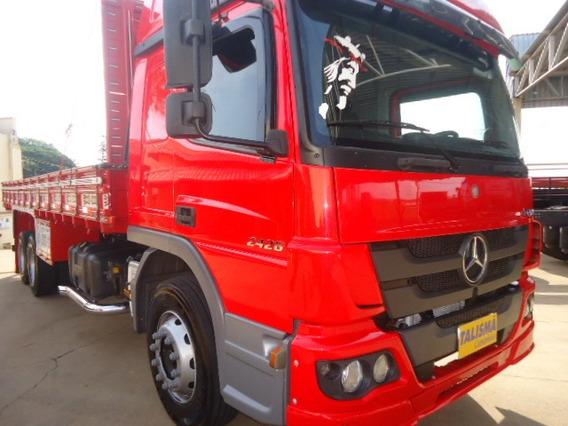M.benz Atego 2426-t.alto-truck-carroceria-completo-talismã C