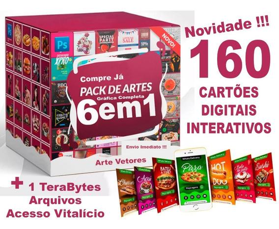 Pack 6em1 + Cartoes Interativos Digitais + Bonus