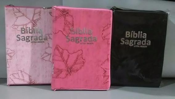 Bíblia Letra Maior - Revista Atualizada - Ziper - 12/17