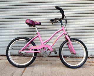 Bicicleta De Paseo Rosa Rod.16 Para Nena