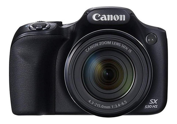 Canon PowerShot SX530 HS compacta avançada cor preto