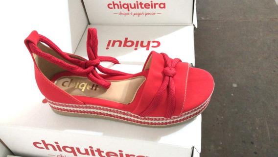 Sandália Sapato Feminina Chiquiteira Chiqui/54258