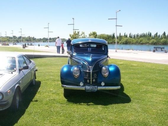 Ford 1938 V8 4 Puertas Clasico Antiguo Coleccion