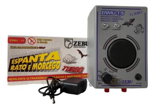Repelente Eletrônico Espanta Rato/morcego 150m² Zebu Ermu1/5