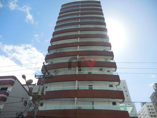 Apartamento À Venda, 83 M² Por R$ 330.000,00 - Cidade Ocian - Praia Grande/sp - Ap0931
