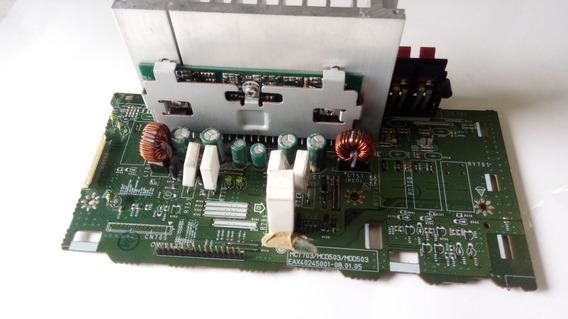 Placa De Saida Amplificador Som Lg Mcd503 Eax40245001