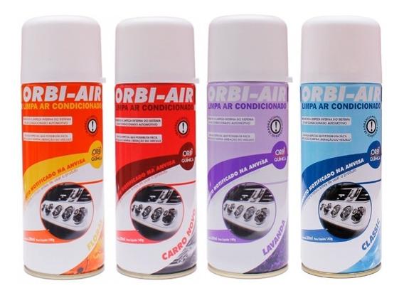 Limpa Ar Condicionado Automotivo Doméstico Spray Higienizar