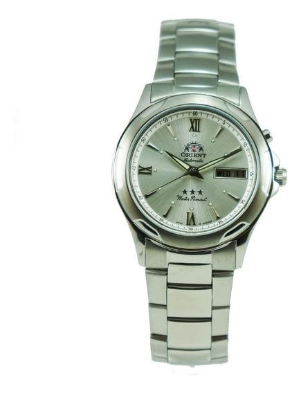 Relógio Automático Orient 469ss006 Visor Prata Frete Grátis