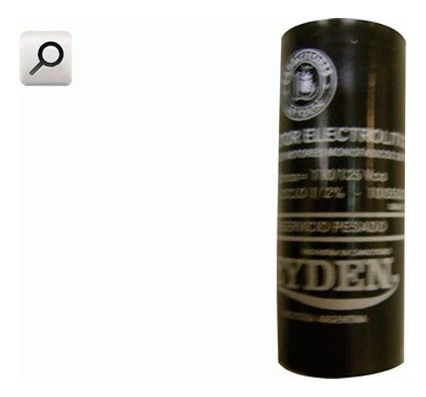 Capacitor Elect 110v 460- 530mf Ep110 Ep110
