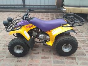 Cuatri Yamaha Badger 80cc Para Chicos Y Grandes Sin Embrague