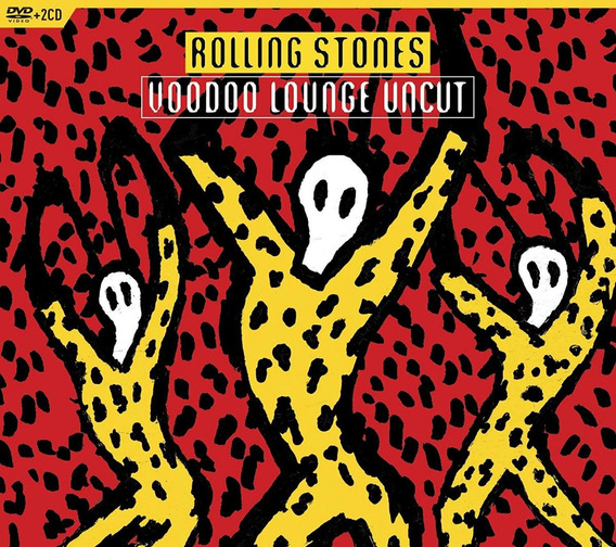 The Rolling Stones Voodoo Lounge Uncut Box Dvd + 2 Cd