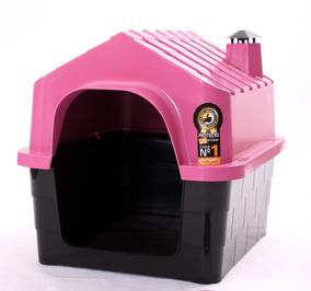 Casinha Casa Caminha Plastica Para Cães Pequeno Porte N1