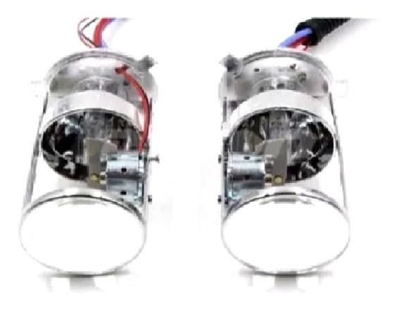 Proyectores Lupa H4 Sin Abrir La Óptica