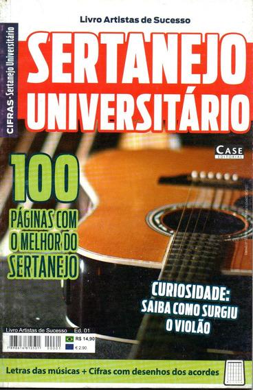 Livro Artistas De Sucesso - Cifras Sertanejo Universitário