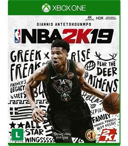Nba 2k19 - Xbox One Mídia Física Lacrado Original