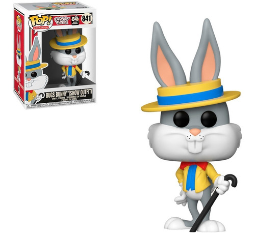 Funko Pop Looney Tunes - Bugs Bunny (show Outfit) 841