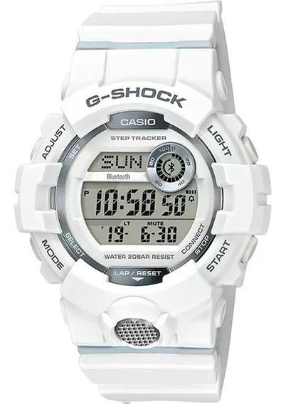 Relógio G-shock Gbd-800-7dr Bluetooth Original Nfe Garantia