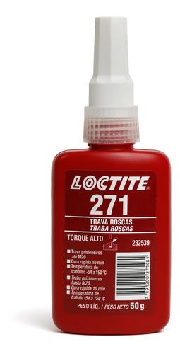Trava Rosca 271 50g Alta Resistência Loctite