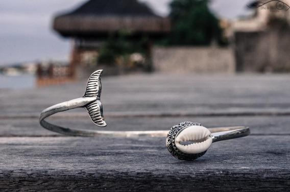Bracelete Búzios Prata 925