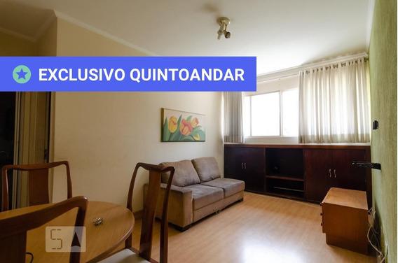 Apartamento No 4º Andar Com 1 Dormitório E 1 Garagem - Id: 892967078 - 267078