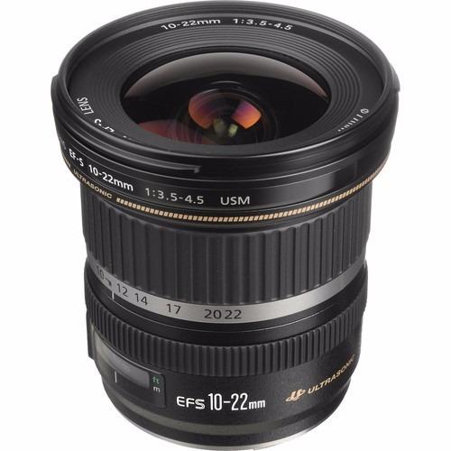 Lente Canon Ef-s 10-22mm Usm Garantia Brasil 12x S/juros