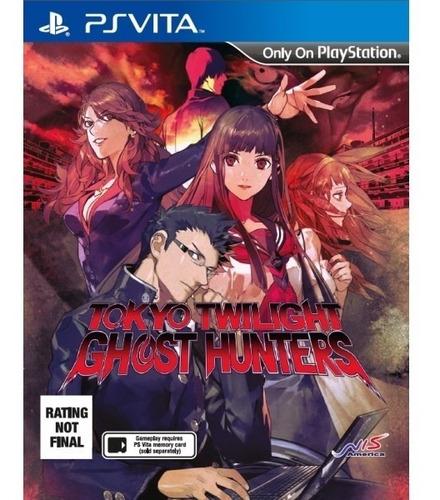 Jogo Mídia Física Tokyo Twilight Ghost Hunter Ps Vita Psvita